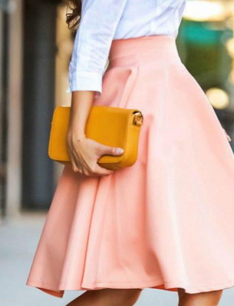 Moderne varijante za nošenje midi suknje