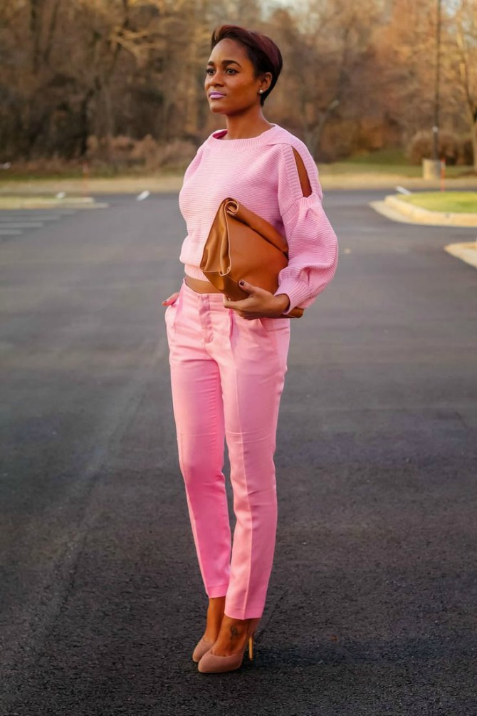 roze odeca1 Kako da nosiš monohromatsku garderobu ove jeseni