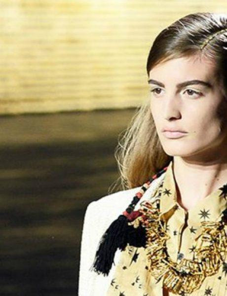 Zlato u kosi: Neobičan, ali glamurozan detalj