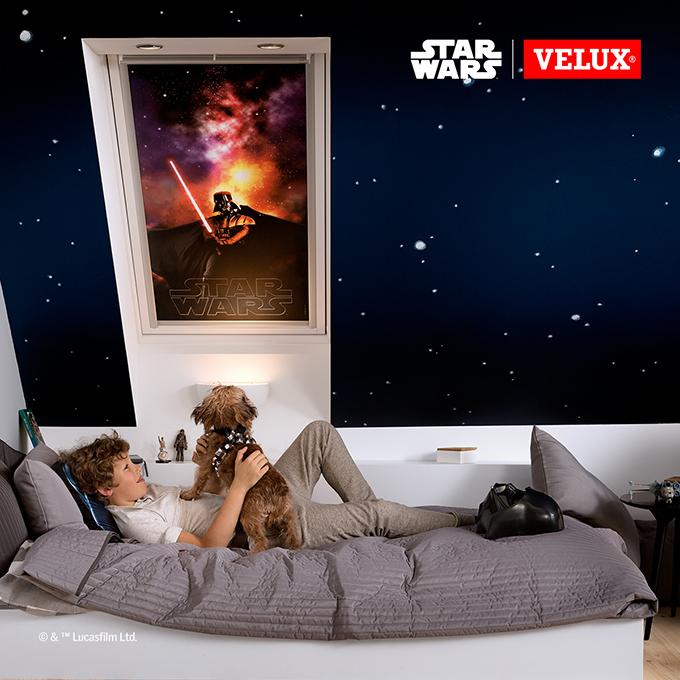 3 jan fb 1 VELUX Star Wars roletne za zamračenje!