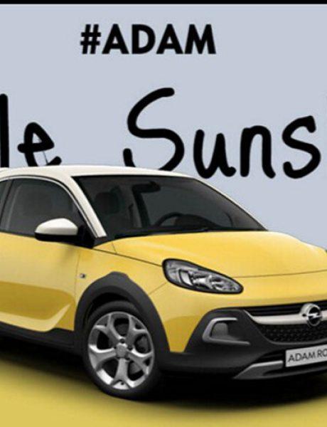 Osvojite personalizovani Opel ADAM