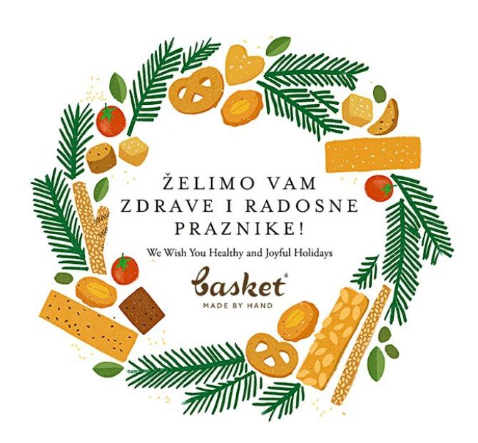 Basket Cestitka I u Novoj godini grickajte zdrave Basket proizvode