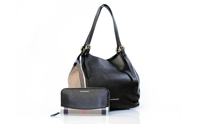 Burberry torba novcanik Praznični glamur na XYZ policama