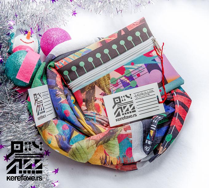 Kerefeke novogidisnji pokloni neseser i marama 001 Spremajte Kerefeke poklone