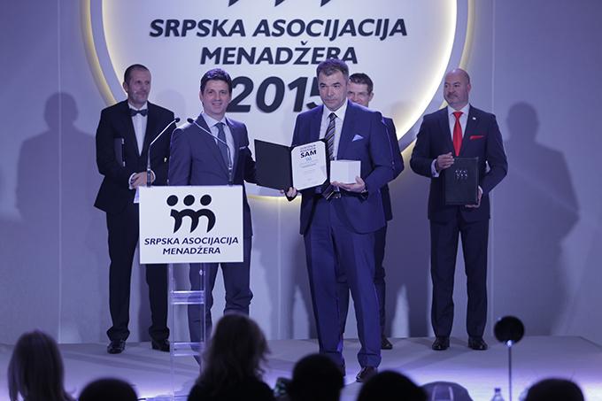 Menadžer godine 2015 Vladan Živanović kompanija NCR SAM dodelio priznanja najboljima