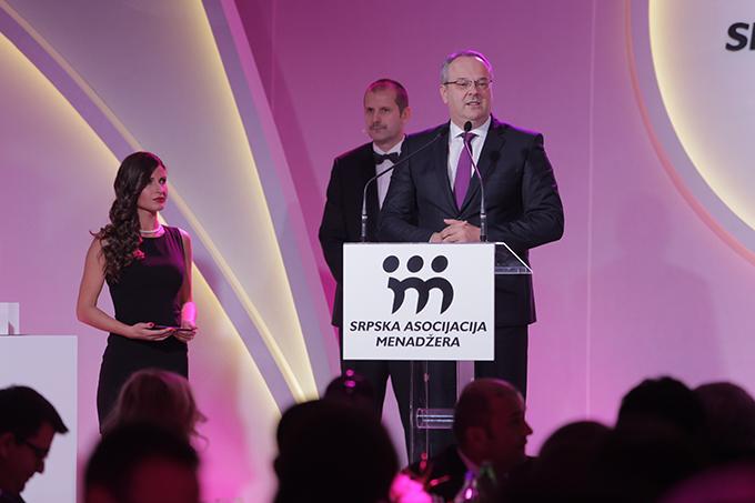 Ministar privrede Srbije Zeljko Sertic SAM dodelio priznanja najboljima