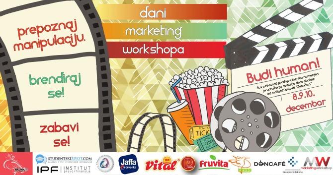 Ne propusti dane Marketing Workshop a Ne propusti dane  Marketing Workshop a