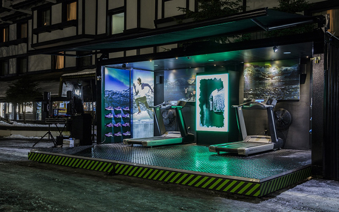 Nike pop up store na Kopaoniku Nike Flash Pack tehnologija osvojila Kopaonik