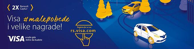 Visa nagradna igra Počela Visa nacionalna nagradna igra