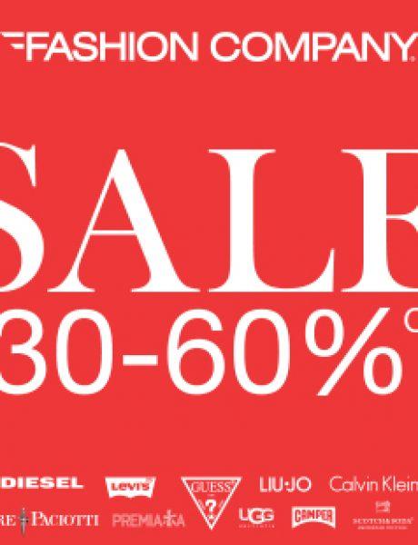 Sezonsko sniženje od 30 do 60% u Fashion Company radnjama