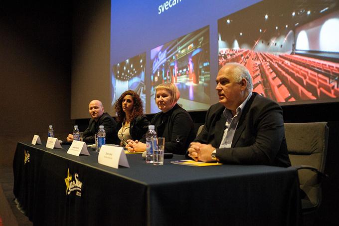 cinestar konferencija za medije 1 Doživi CineStar: Bioskopsko iskustvo sa pet zvezdica zvanično počinje