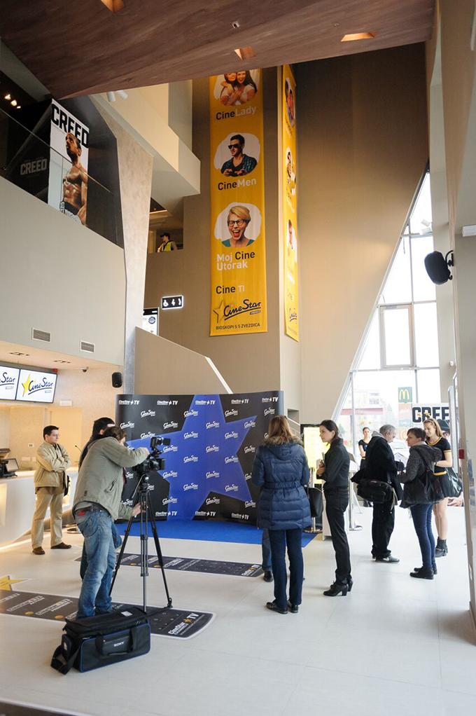 cinestar konferencija za medije 2 Doživi CineStar: Bioskopsko iskustvo sa pet zvezdica zvanično počinje