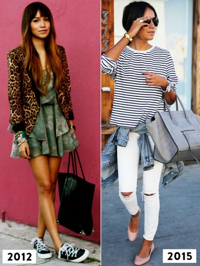 evolucija stila strane blogerke 1 Evolucija stila najpoznatijih stranih modnih blogerki