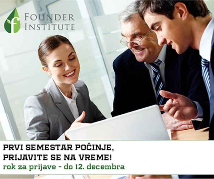 founder institute Founder Institute Serbia: Odvaži se, započni svoj biznis!
