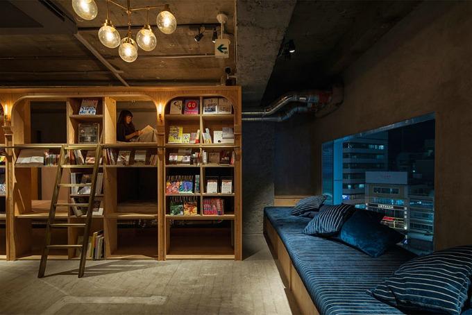 hotel biblioteka 2 Da li biste noćili u hotelu biblioteci?
