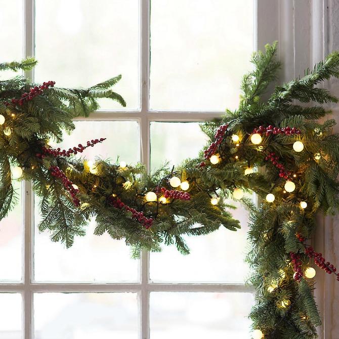 nova godina dekoracija Dekorišite dom jelkicama i drvećem koje svetli