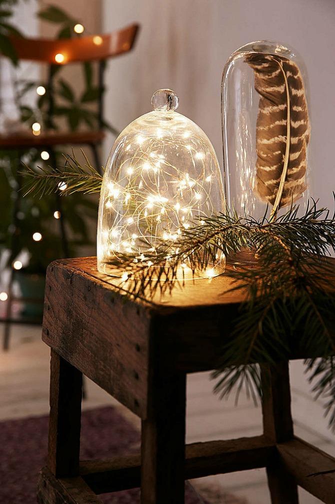 nova godina dekoracija6 Dekorišite dom jelkicama i drvećem koje svetli