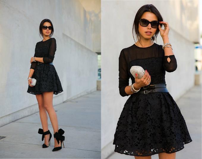 novogodisnji aksesoari za malu crnu haljinu 1 Novogodišnji aksesoari uz malu crnu haljinu