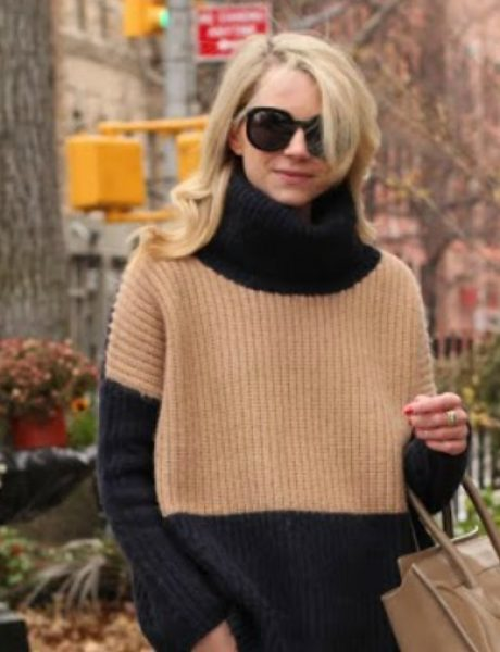 Kako da nosite oversized džempere ove zime