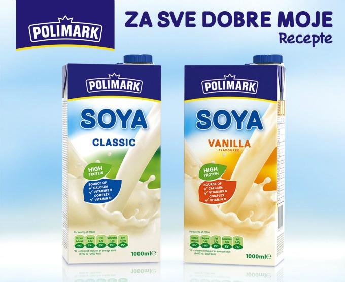 polimark napici od soje 1 Napitak od soje stiže iz Polimarka