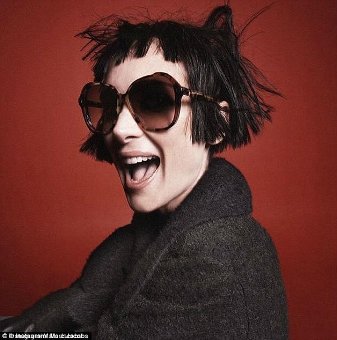 vinona rajder za marc jacobs beauty 3 Vinona Rajder novo lice Marc Jacobs Beauty kampanje