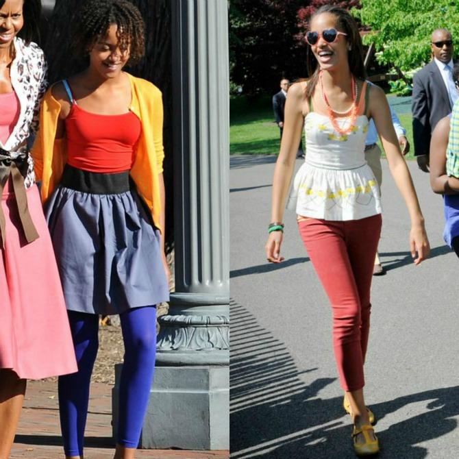 22 Mlada trendseterka: Stil Malije Obame