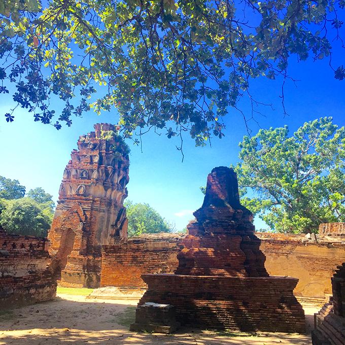 Ayutthaya 1 Tajland i Bangkok: Vodič za putovanje jedne gradske cice