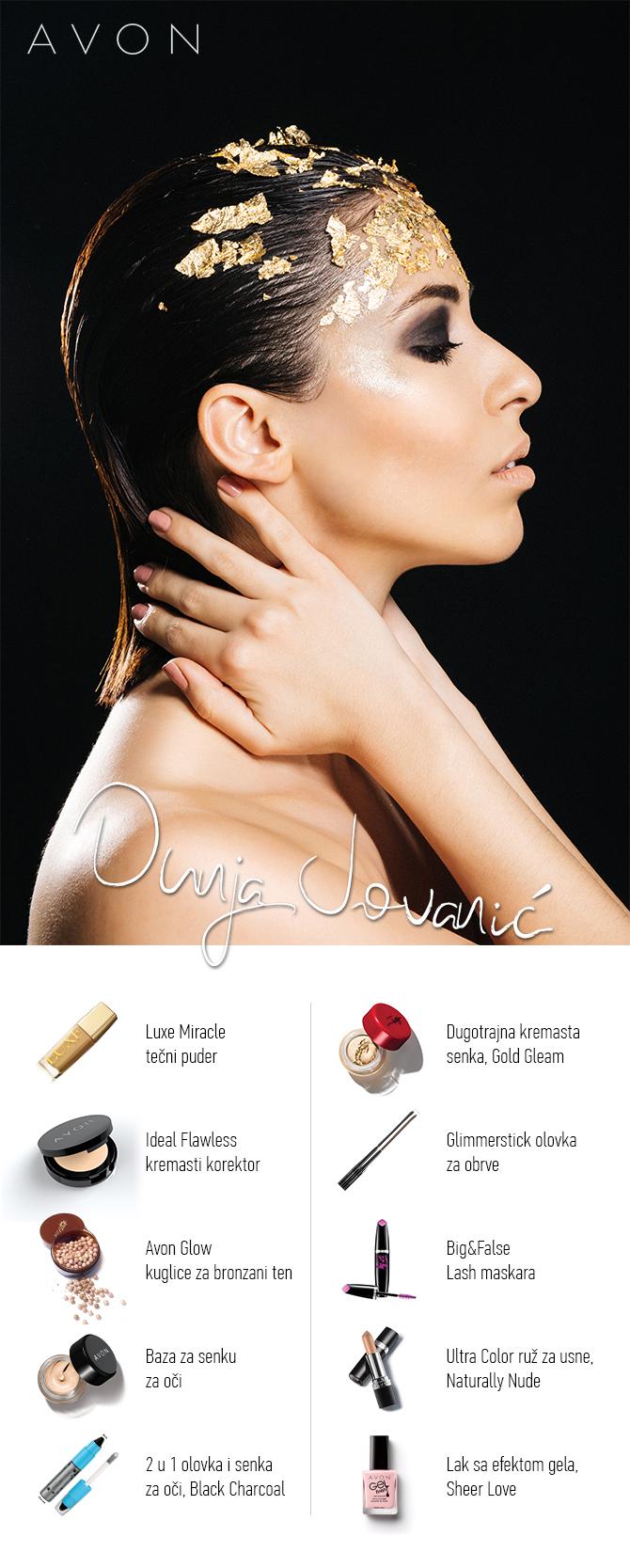 Dunja Jovanic ISKOPIRAJ makeup modnih blogerki: GLAMUROZAN look