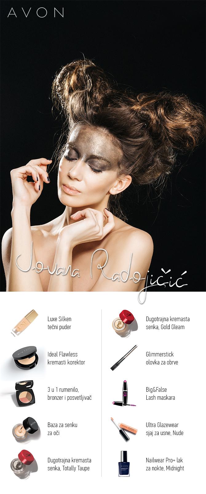 Jovana Radojicic ISKOPIRAJ makeup modnih blogerki: Dramatičan izgled