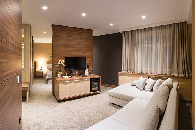 Soba u novom bloku Prvi gosti u novom krilu hotela Grand na Kopaoniku