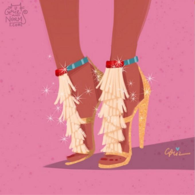 cipele za princeze 10 Cipele za prave Diznijeve princeze (GALERIJA)