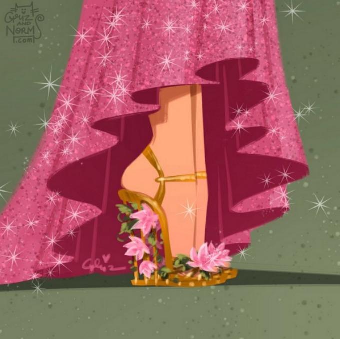cipele za princeze 2 Cipele za prave Diznijeve princeze (GALERIJA)