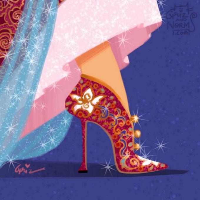 cipele za princeze 9 Cipele za prave Diznijeve princeze (GALERIJA)