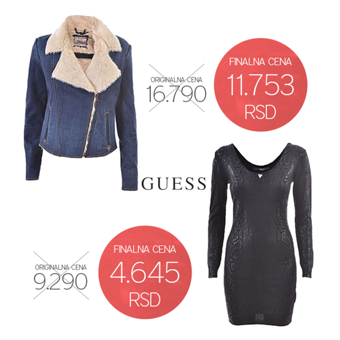 guessNewsletter Duplo jača kupovina u Fashion Park Outlet Centru Inđija
