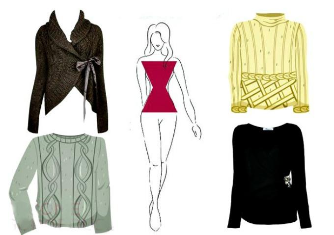 izbor dzempera prema gradji tela 2 Kako da izabereš odgovarajući džemper za tvoj TIP građe