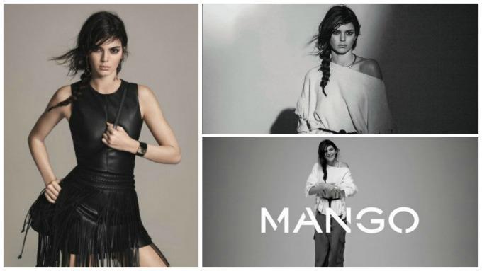 kendal dzener kampanja mango 3 Kendal Džener u kampanji brenda Mango koja je UZBURKALA javnost