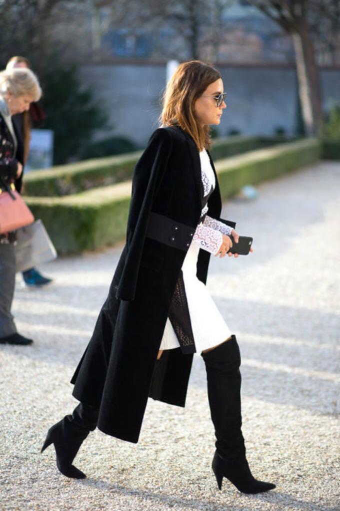 nedelja visoke mode pariz street style 1 Street Style: Pariski šik u NAJBOLJEM izdanju!