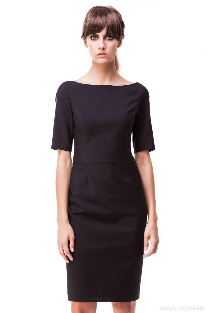 retro poslovna odevna kombinacija 1 Retro kombinacija za moderne poslovne žene