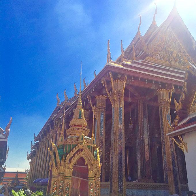tajland grand palace 2 Tajland i Bangkok: Vodič za putovanje jedne gradske cice