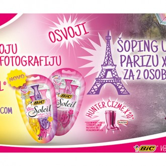 Fotografiši nove BIC Miss Soleil Colour Collection i osvoji put u Pariz i druge vredne nagrade!