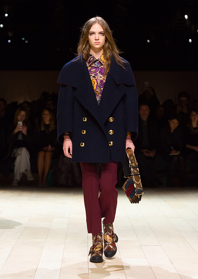 Burberry Womenswear February 2016 Collection Look 22 A Patchwork – nova Burberry kolekcija za žene
