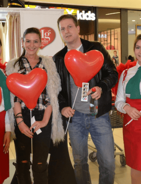 Ovo su Beograđani proslavili Dan zaljubljenih