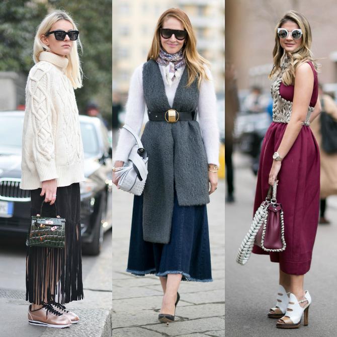 Kolaz 6 Street Style: Nedelja mode u Milanu