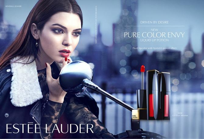 LIP POTION1 Kendal Džener novo zaštitno lice Estée Lauder