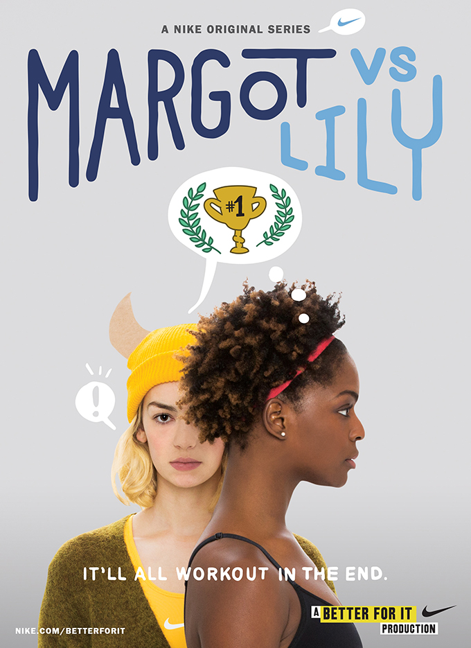 MargotvsLily ABetterForItProduction POSTER original Emitovana prva epizoda video serijala kampanje Better For It