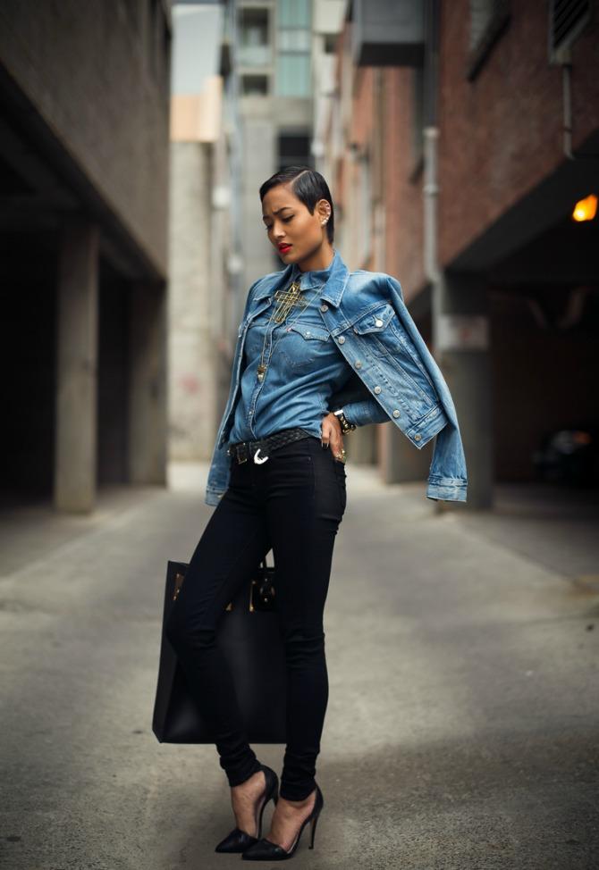 Micah Gianneli Best top personal style fashion blog Street style editorial Levis editorial campaign Triple double denim Vera Xane Save the Last Pinker Androgynous model girl 5 Navike koje svaka devojka od STILA mora imati