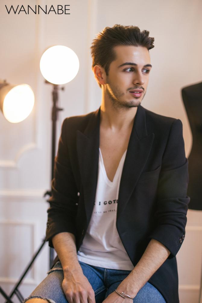Nemanja Ivanisevic intervju Wannabe magazine a2 Intervju: Nemanja Ivanišević, stilista i modni dizajner