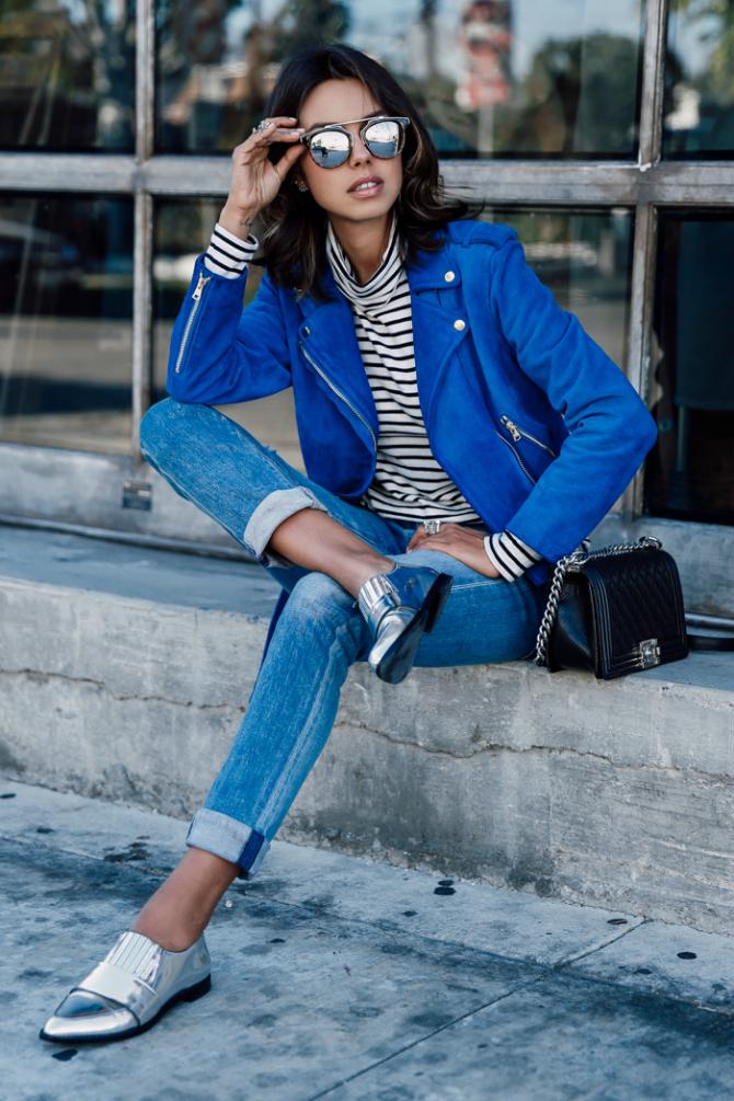 Srebro Kako da elegantno nosite kraljevsko plavu
