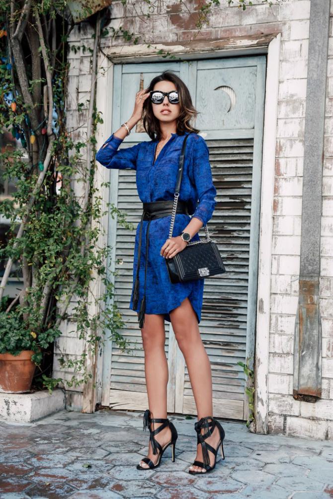 Stikla Kako da elegantno nosite kraljevsko plavu