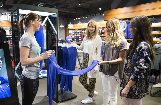 Učesnice kampanje  Better20For20It jpg Nike Shop predstavio novi servis za potrošače
